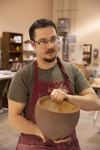 Michael Ashley of Ashley Studio Pottery