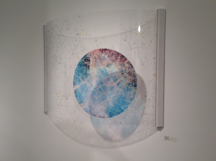 Hailey Hodge, Cosmogony. ink on Plexiglas. Copyright (c) the artist.