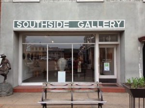 Southside Gallery is on the Square in Oxford