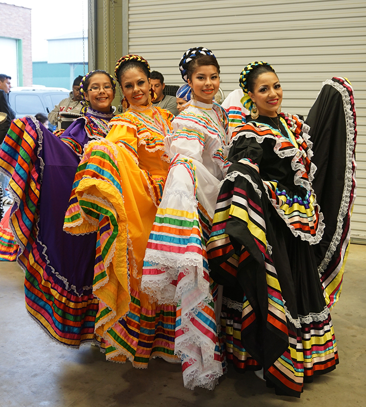 Dancers at LatinFest 2015