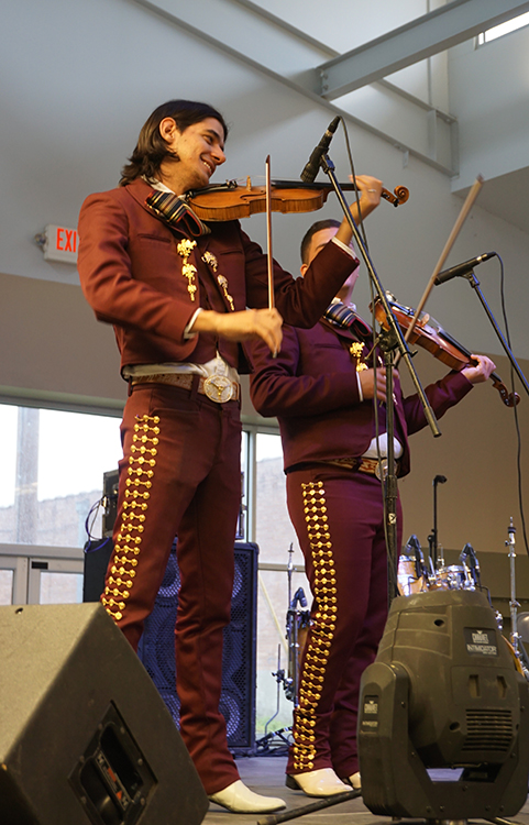 Mariachi Jalisco performs